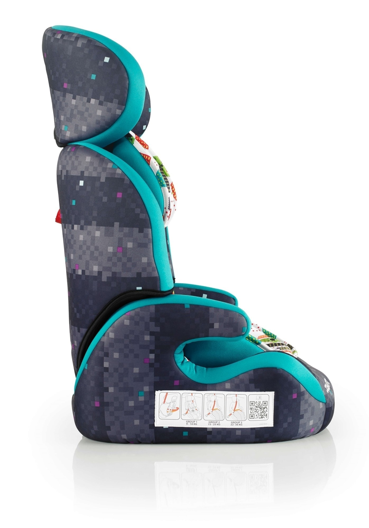 Cosatto Zoomi Highback Booster Car Seat With Harness