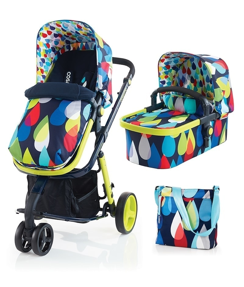 Cosatto Giggle 2 Travel System (3 in 1 Pram & Pushchair) - Pitter Patter