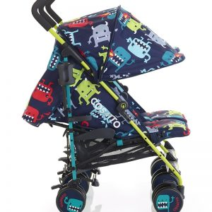 Cosatto Supa Dupa Twin Stroller – Cuddle Monster 2