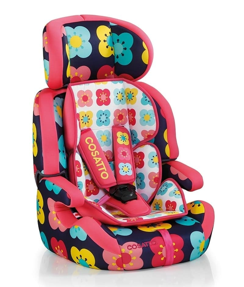 Cosatto Zoomi Highback Booster Car Seat With Harness Poppidelic 1