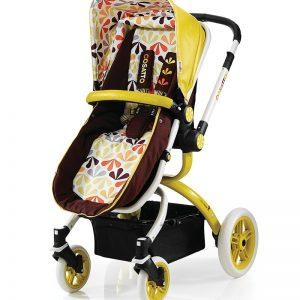 Cosatto Ooba Travel System (3 in 1 Pram & Pushchair) - Marzipan